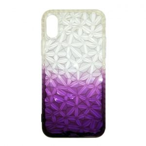 Back Cover Slim Diamond For Iphone X - Purple