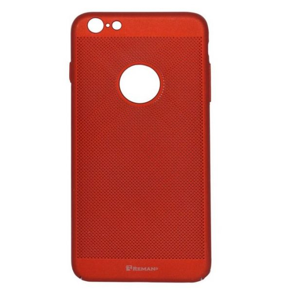 Reman Breathable Ultra Slim Case For iPhone 6 Plus - Red