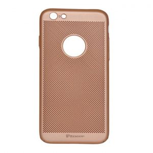 Reman Breathable Ultra Slim Case For iPhone 6 Plus - Rose Gold
