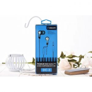 DC-3 Stereo Headset With Mic Sky Blue Color