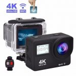Camera 4K Sports Action Touch Screen WIFI 30m Water Resistant