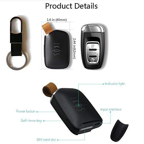 Ikos Bluetooth Dual SIM Adapter Compatible with iPhone