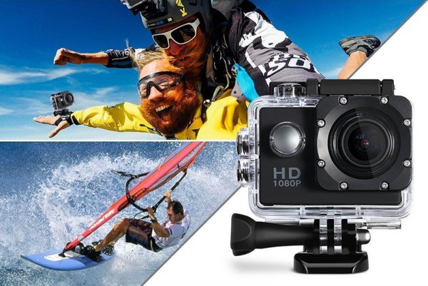 Camera HD 1080P Sports Action 30m Water Resistant