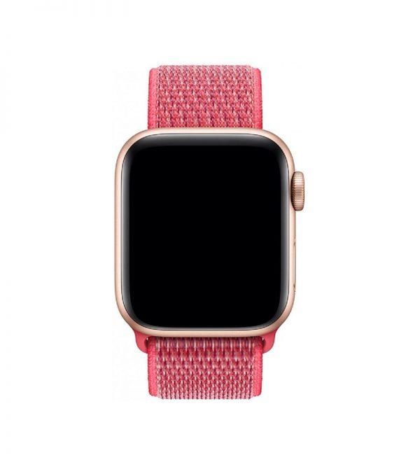 Bracelet Nylon 38mm For Apple Watch Hibiscus Color